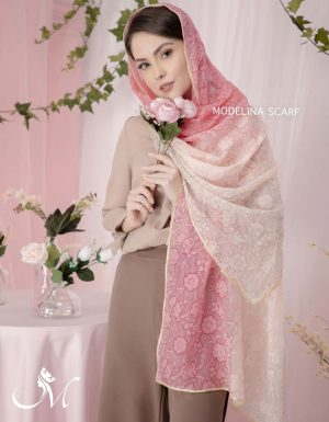 شال حریر ابریشم Floral 699