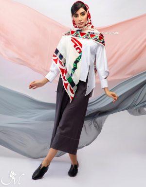 روسری ابریشم مدلینا