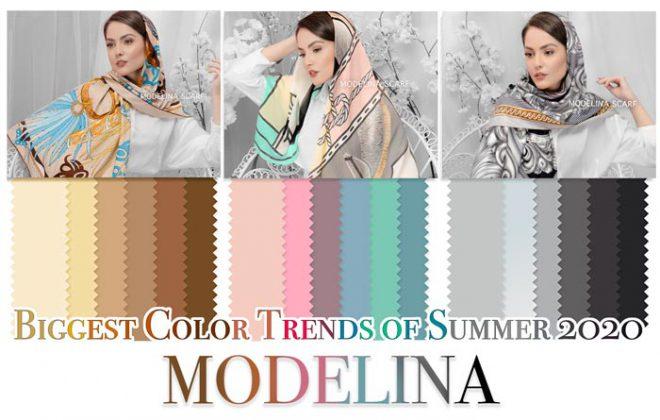 color terend summer 660x420 - رنگ های شال و روسری تابستان 99