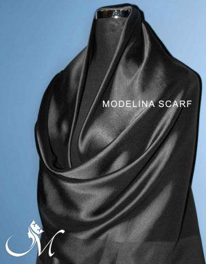 روسری نخی ساده شاین 10171M2