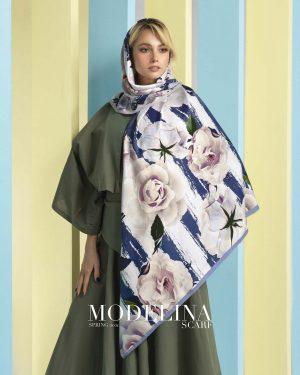 روسری نخی مدلینا 1072M1