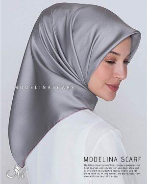 خرید روسری ساتن ابریشم ترک قواره کوچک 400