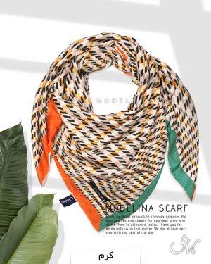 روسری نخی مدلینا1113 کرم