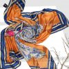 روسری نخی مدلینا 1127 سرمه ای