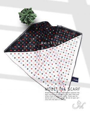 خرید روسری قواره کوچک ژاکارد M1