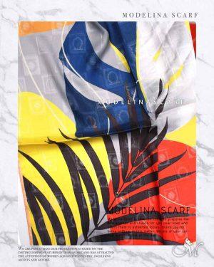 روسری قواره کوچک ژاکارد M10 شیک