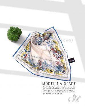 روسری قواره کوچیک ژاکارد M16 تابستانه