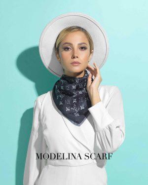 روسری قواره کوچک ژاکارد M6