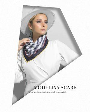 روسری قواره کوچک ژاکارد M7