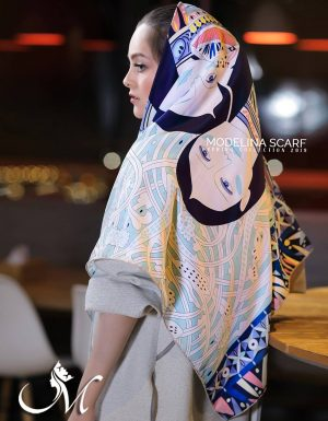 424M4 روسری ابریشم