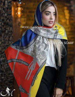 609 روسری ابریشم مدلینا